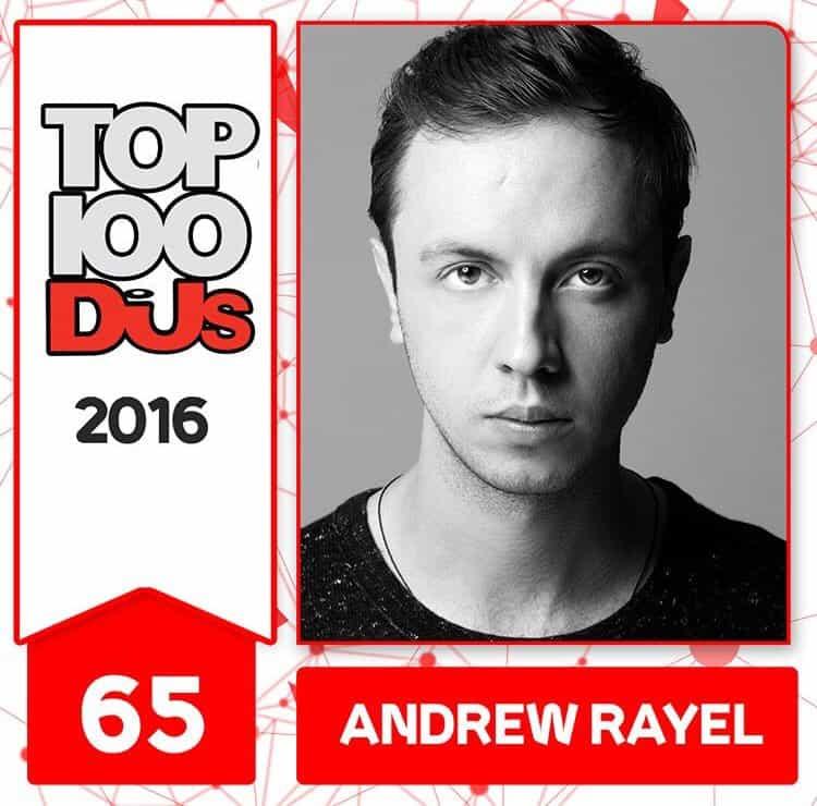 Andrew Rayel at No.65 of the DJ Mag 100 2016