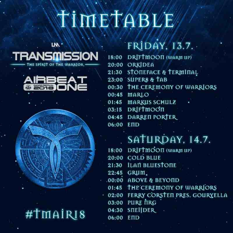 Timetable Transmission @ Airbeat One 2018