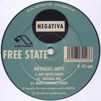 Free State - Different Ways (Dirt Devils Remix)