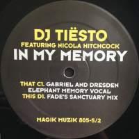 Tiësto feat. Nicola Hitchcock - In My Memory (Gabriel & Dresden Elephant Memory Vocal)