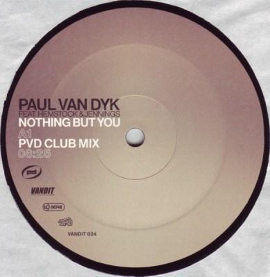 Paul van Dyk feat. Hemstock & Jennings - Nothing But You