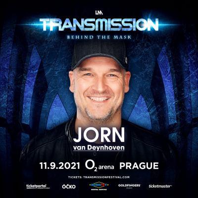 Jorn van Deynhoven live at Transmission - Behind The Mask (11.09.2021) @ Prague, Czech Republic