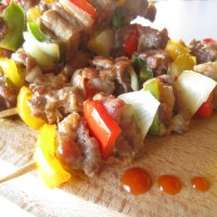 Grilled Pork Skewers