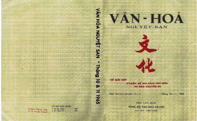 Văn hóa nguyệt san tháng 10&11-1965
