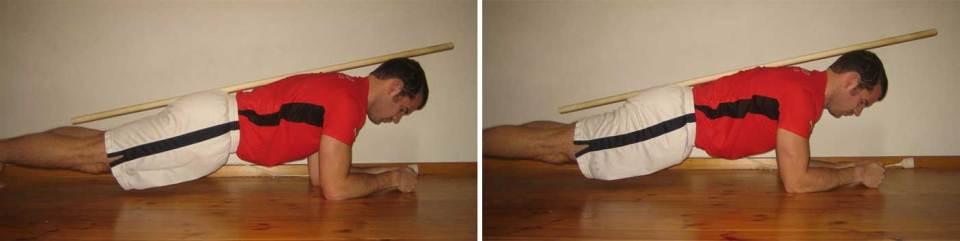 Två lite olika utföranden av plankan som båda är exempel på bra teknik