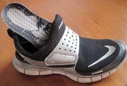 34cdacf7a368 Hur tjocka mjuka sulor och plana inlägg i skorna påverkar ens balans