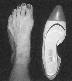 skor för smala fötter