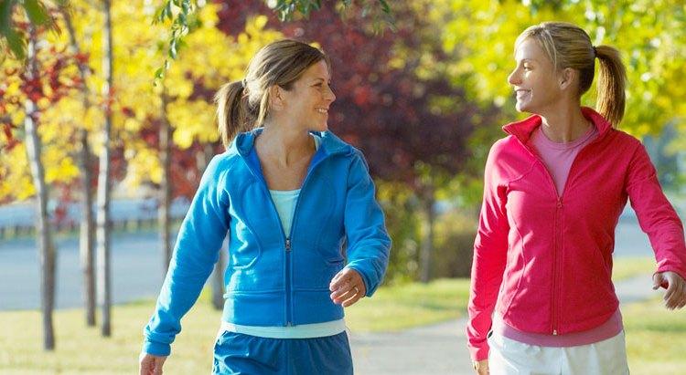 Fettförbränning, träningsintensitet, morgonpromenader och viktnedgång