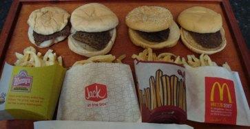 Gamla hamburgare som inte blir dåliga