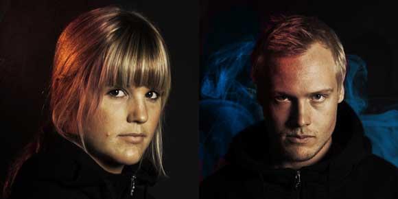 Anna Holmlund och Victor Öhling Norberg