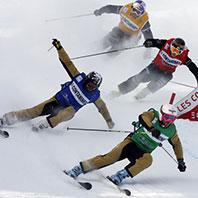 Om sporten Skicross