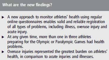 Många elitidrottare tränar och tävlar med smärta