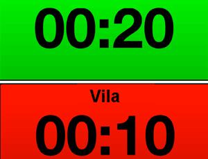 Tabataintervaller är 20 sekunders vila och 10 sekunders arbete
