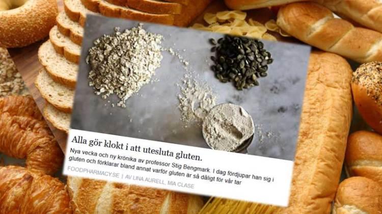 Stig Bengmark och mer påhitt om gluten och vete