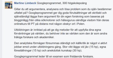 Googleprogrammet