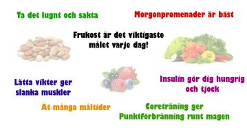 Myter kring viktnedgång