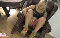 Canada-tgirl presents Jenny Everheart On The Couch
