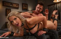TS Seduction – Kayleigh Constrained: Kayleigh Coxx Serves Her Master Dominic Pacifico
