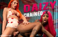 TS Pussy Hunter – Daizy Chained: New To Kink Daizy Cooper Deep Fucked by Aspen Brooks
