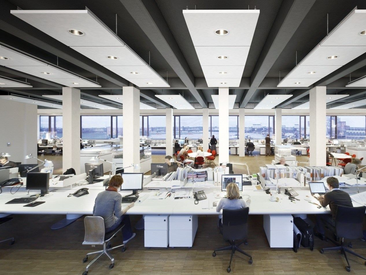 Which ceiling is best suitable for office buildings? Features and Benefits?
