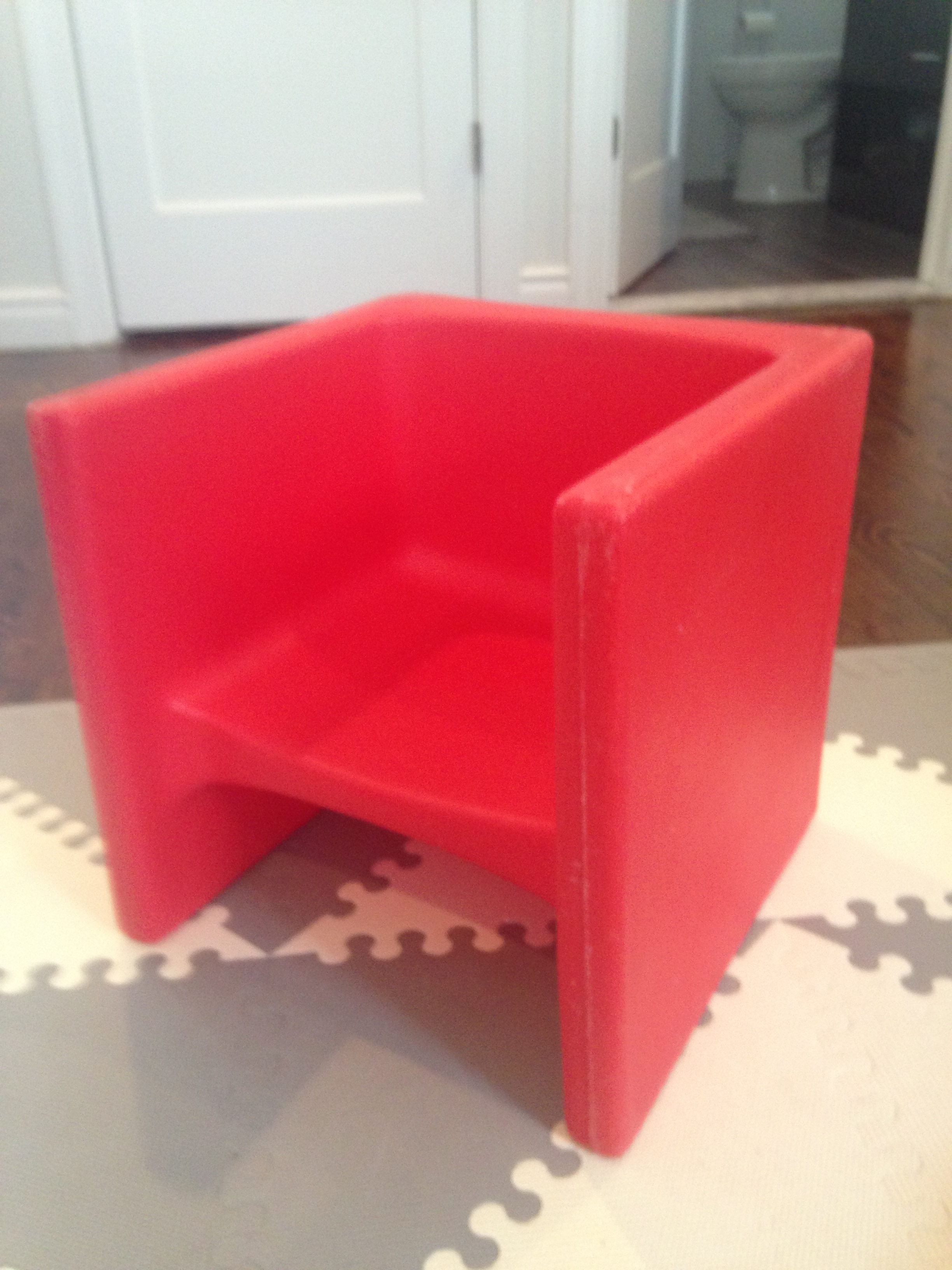 The Cube Chair Your Special Needs Toddler S New Favorite