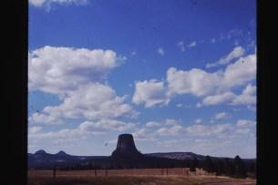 Devils tower Wyoming