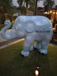DK's elephant parade