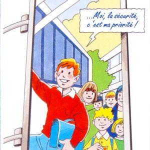 Dépliant pro sécurité en car scolaire