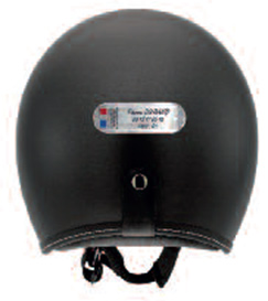 Stickers personnalisés rétro-réfléchissants pourconducteur de deux roues motorisé