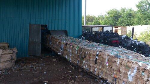Переработка мусора с минимальными вложениями