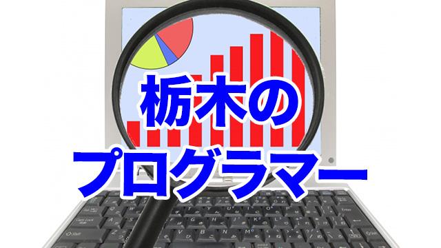 栃木のプログラマー