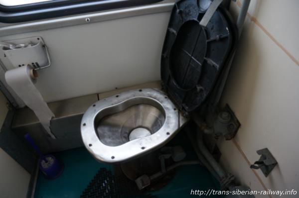 シベリア鉄道トイレ便座画像