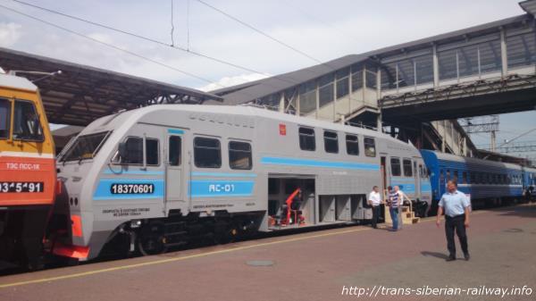 シベリア鉄道Motor Rail Car ≪АС-01≫ 画像
