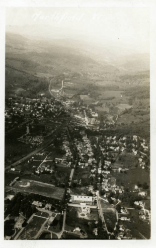 Aerial View of Northfield c.1950