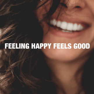 Feeling happy feels good - photo Lesly Juarez