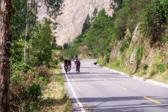 Vélo de route au Pérou