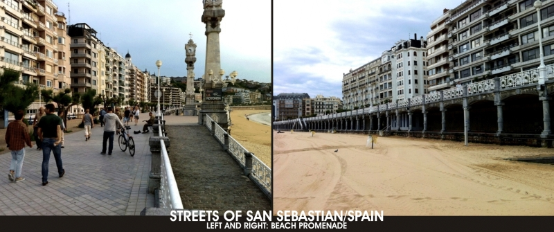 STREETS AND COAST OF SAN SEBASTIAN/SPAIN – OUR PHOTO GALLERY