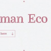 RYMAN ECO - A sustainable and eco friendly font (w. free download)