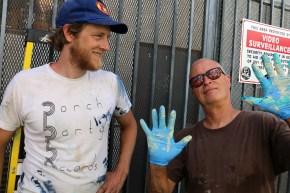 Dave van Patten (left) and Jim Coke.