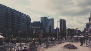 Rotterdam Hoogstraat - a shopping street.