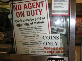 No Agent on Duty.
