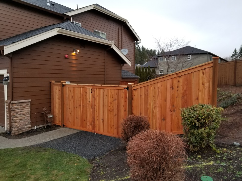 New fence project