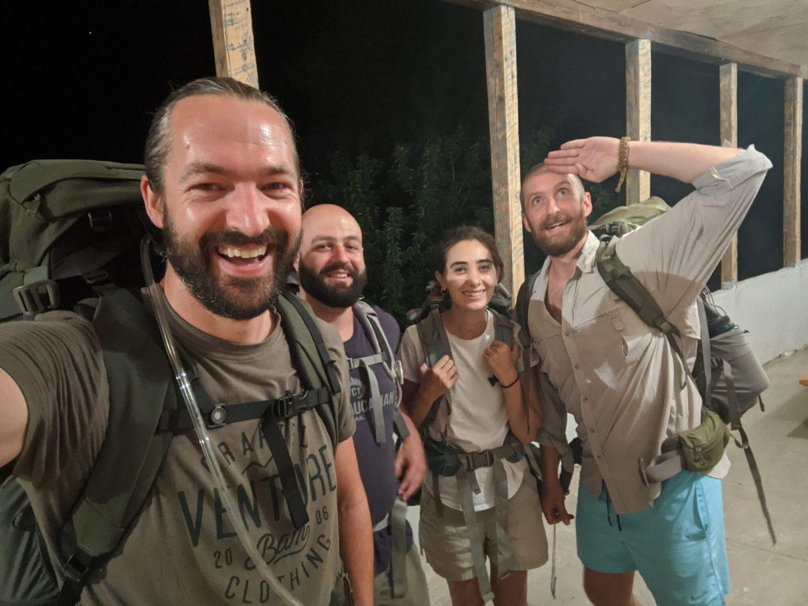 The team: Tom, Ale, Tsovinar, and Roffi.