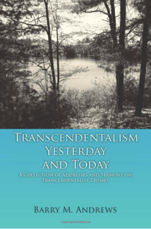 Transcendentalism Yesterday and Today by Barry M. Andrews front cover