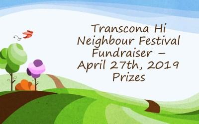 Thnfi Fundraiser April 27, 2019