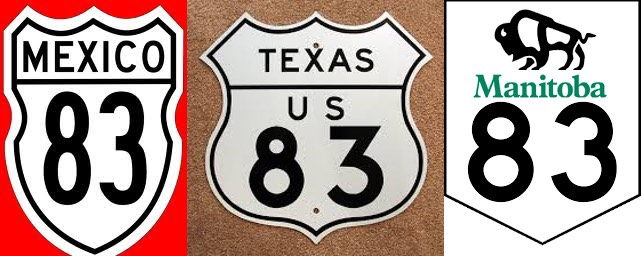 Route83-MexicoUSCanada