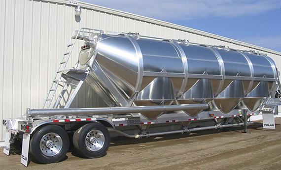 Dry Bulk Truck Blowers : Dry bulk trailers transcourt inc