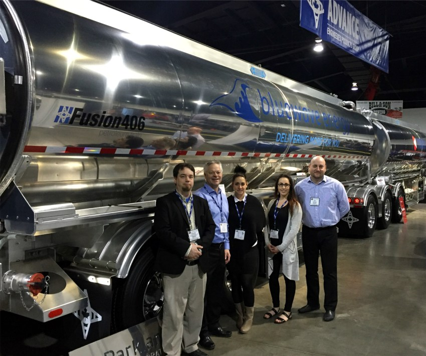 Transcourt's Tony Jelicic met with a team from Advance Engineered Products Group at Truck World.