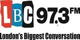 LBC 97.3 logo Transcription city reviews
