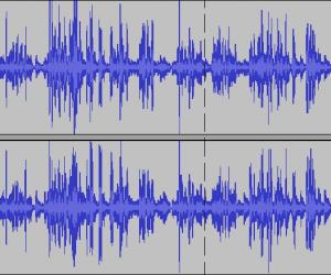 Sound files for transcription